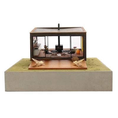 Paris Renfroe Modernist WeeHouse Model from Milwaukee Art Museum, 2011