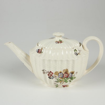 "Copeland Spode ""Wicker Lane"" Earthenware Teapot"