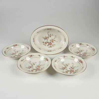 "Noritake ""Asian Song"" Porcelain Bowls, Mid to Late 20th Century"