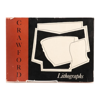 "Signed First Edition ""The Lithographs of Ralston Crawford"" by Richard B. Freeman"