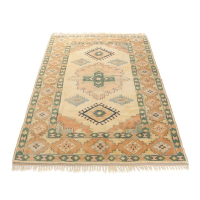 7'4 x 11'0 Hand-Knotted Turkish Village Rug