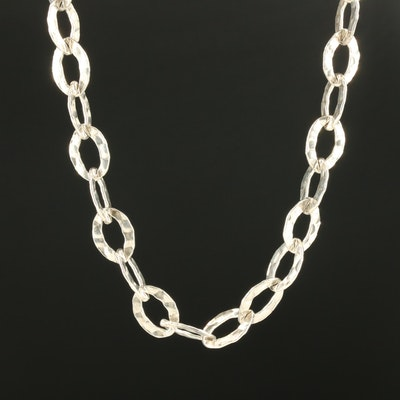 Sterling Silver Endless Necklace