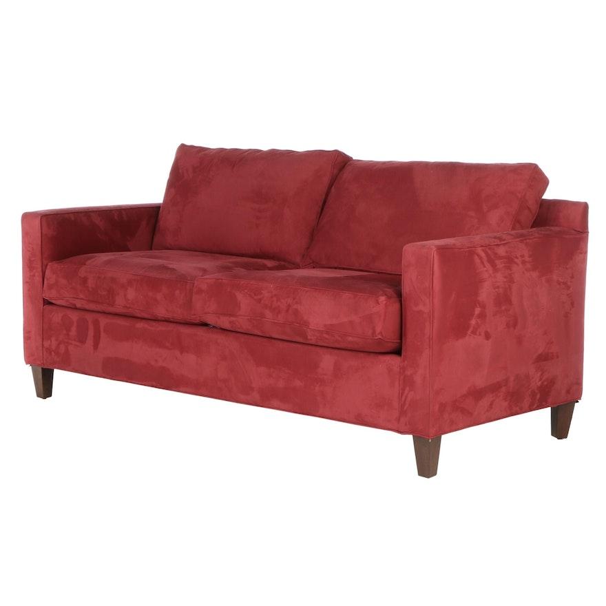 "Crate & Barrel ""Diplomat Poppy"" Sofa"
