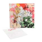 "Blue October Signed Album Cover ""I Hope You're Happy"""