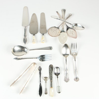 Oneida, William Rogers, and More Stainless Steel and Silver Plate Utensils