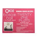 Twenty One Pilots Concert Tickets, October 22, 2019 US Bank Arena