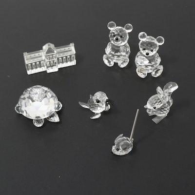 Swarovski Crystal Figurines, Late 20th Century