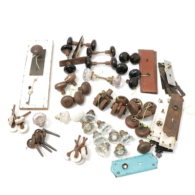 Antique Architectural Hardware, Door Knobs, Casters, & More