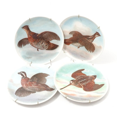 R.K. Beck for Taylor, Smith & Taylor Game Bird Plates, Vintage