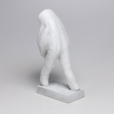 Resin Walking Hand Figurine