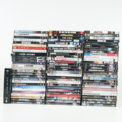 DVD Films including Military, History, Action & Adventure, and More