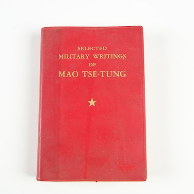 "1968 First Pocket Edition ""Selected Military Writings of Mao Tse-Tung"""