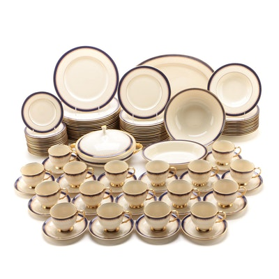 "Lenox ""Jefferson"" Bone China Dinnerware and Serving Pieces, 1984-2001"