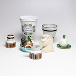Pottery and Porcelain Collection, Mid-Century