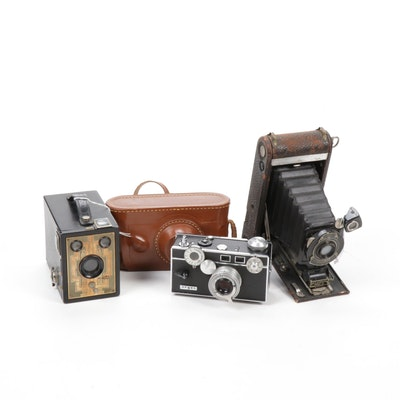 Brownie Six-20, Kodak Folding Camera and Argus Cameras,Early to Mid 20th Century