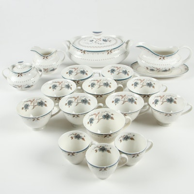 """Royal Doulton """"Old Colony"""" Porcelain Cups and Serveware"""