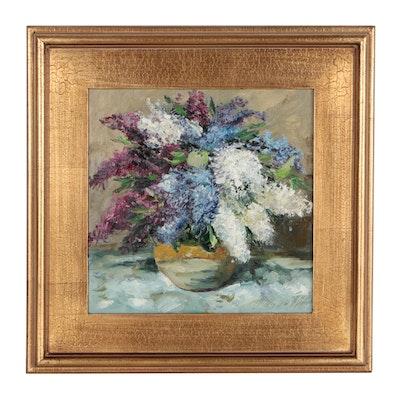 """Garncarek Aleksander Oil Painting """"Bzy"""""""