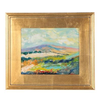 Andrew Semberecki Landscape Oil Painting
