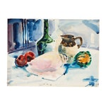 Jack Meanwell Still Life Watercolor Painting, 1979