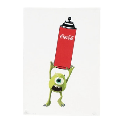 "Death NYC Offset Lithograph ""Monster Soda"""