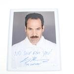 "Larry Thomas Autographed ""The Soup Nazi"" Color Photograph with COA"