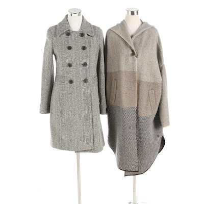 Colombo and Teenflo Wool and Cashmere Blend Outerwear