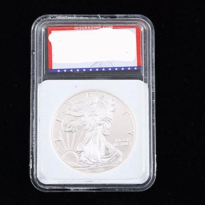Encapsulated 2016 American Silver Eagle Bullion Coin