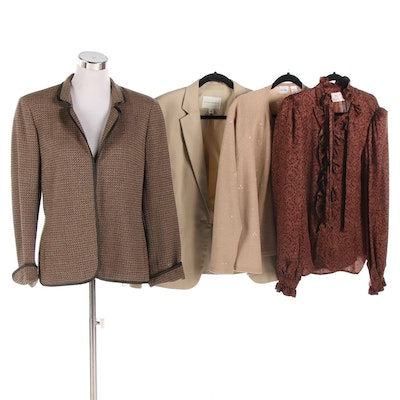 Miss O by Oscar de la Renta and Other Jackets, Cardigan and Blouse