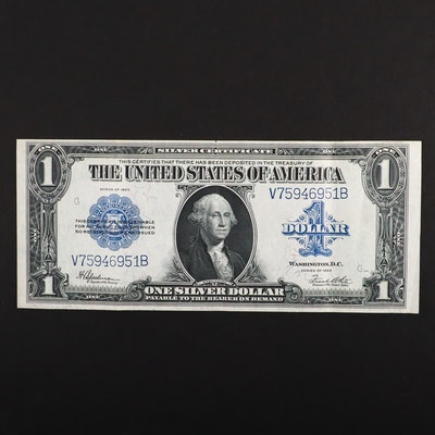 Large Format Series of 1923 $1 Silver Certificate