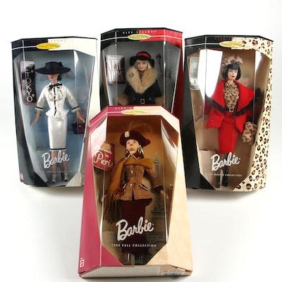 "Barbie Collector Edition ""City Seasons"" Fashion Dolls, 1990's"
