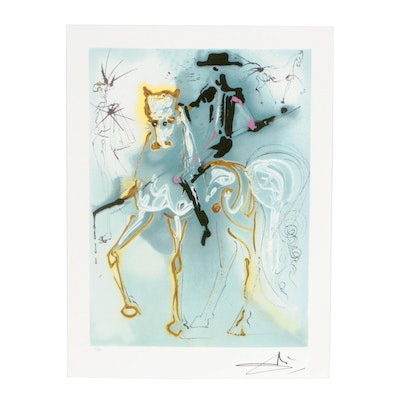 "Offset Lithograph after Salvador Dalí ""La Picador"""