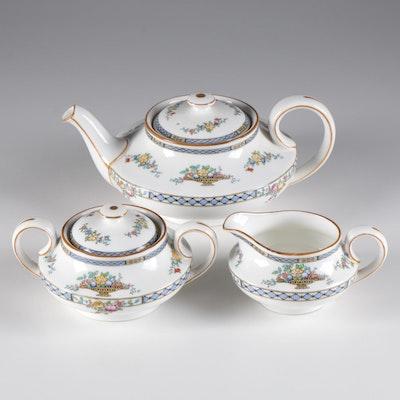 "Royal Doulton ""Strathmore"" Porcelain Tea Service"