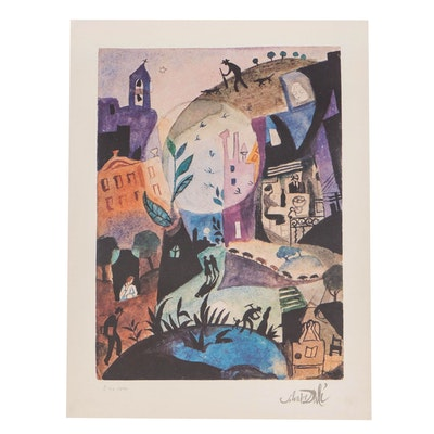 "Offset Lithograph After Salvador Dalí ""The Days of Spring"""