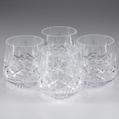 """Waterford Crystal """"Lismore"""" Roly Poly Glasses, Contemporary"""