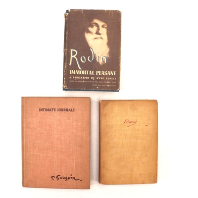"""Rodin: Immortal Peasant"" by Anne Leslie and Other Artists Journals and Letters"