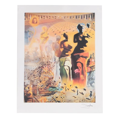 "Offset Lithograph after Salvador Dalí ""The Hallucinogenic Toreador"""