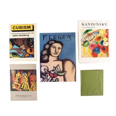 "Modernist and Cubist Art Books featuring ""F. Léger"" by Gilles Néret, 1993"