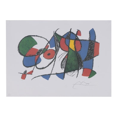 Offset Lithograph after Joan Miró