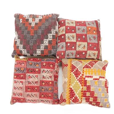 Turkish Kilim Rug Throw Pillows