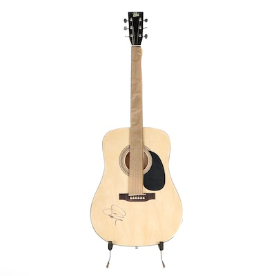 Shawn Mendes Signed Rogue Acoustic Guitar