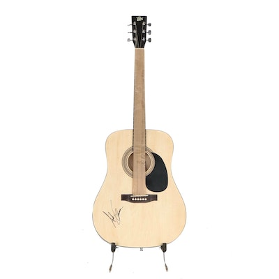 Andy Grammer Signed Rogue Acoustic Guitar