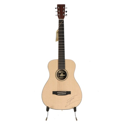 Thomas Rhett Signed Little Martin & Co. Acoustic Guitar