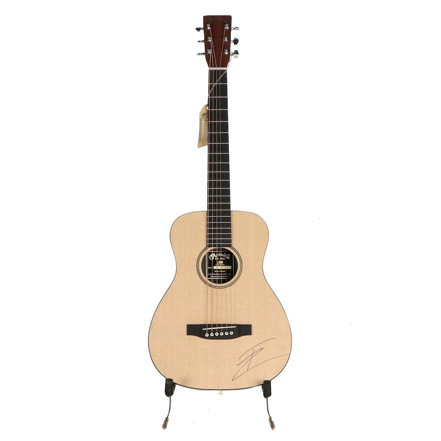 Thomas Rhett Signed Little Martin & Co. Acoustic Guitar