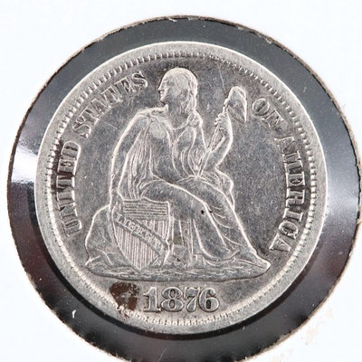 A Better Date 1876-CC Liberty Seated Silver Dime