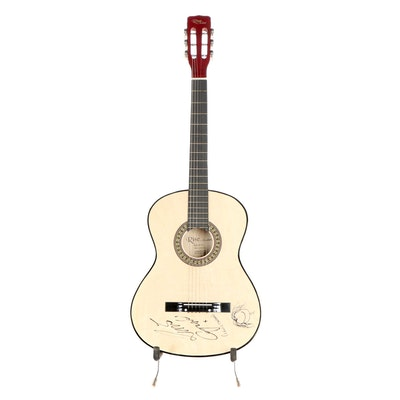 "Lewis Capaldi Signed ""Sawtooth"" Acoustic Guitar"