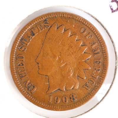 A Key Date 1908-S Indian Head Cent