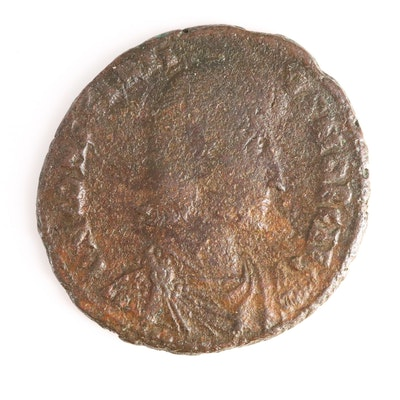 Ancient Roman Imperial AE3 Coin of Constantius II, ca. 351 A.D.