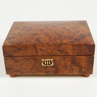 "Reuge ""Sainte-Croix"" Wood Music Box"