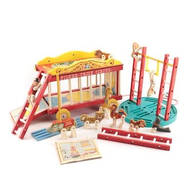 Fisher-Price Circus Wagon Playset, 1960s