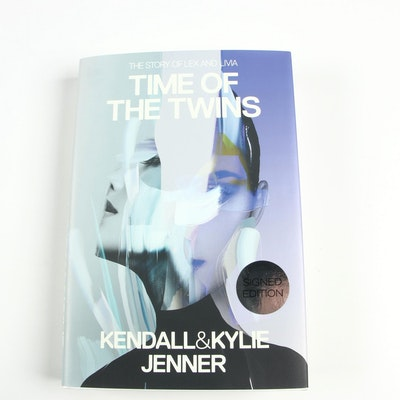 """Signed First Edition """"Time of the Twins"""" by Kendall and Kylie Jenner, 2016"""